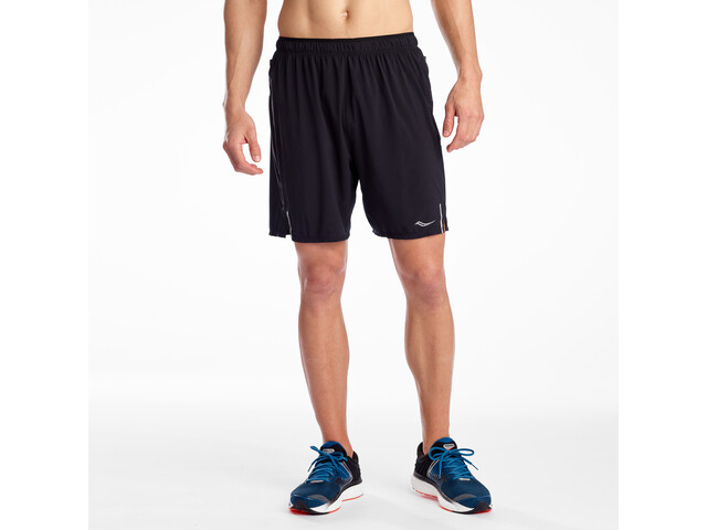 "saucony Outpace 7"" Shorts Men black"